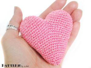 crochet heart pdf pattern
